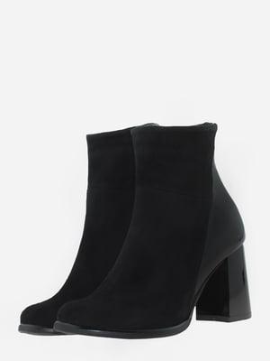 Ботинки черные | 5703121