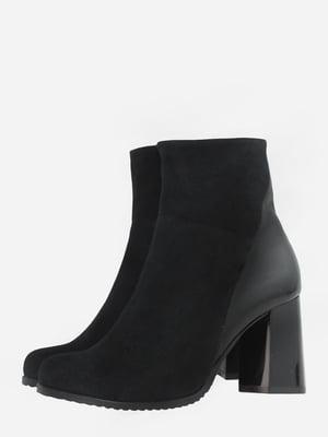 Ботинки черные   5703122