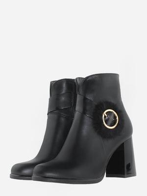 Ботинки черные   5703124