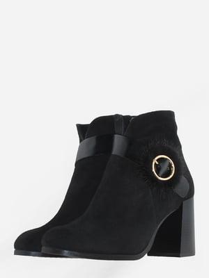 Ботинки черные   5703126