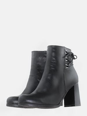 Ботинки черные   5703142