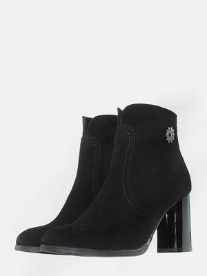 Ботинки черные   5703174