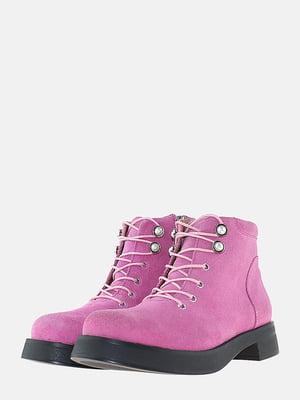 Ботинки розового цвета | 5704545