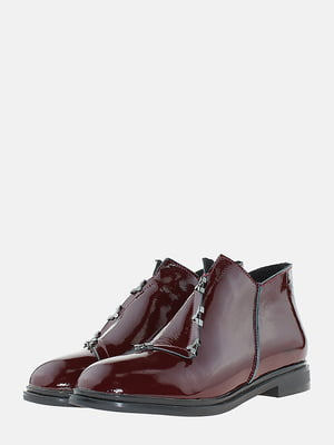 Ботинки бордовые | 5704547