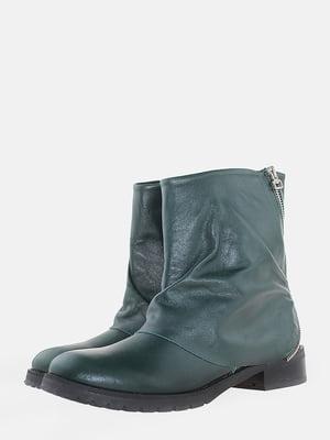Ботинки зеленого цвета | 5704549