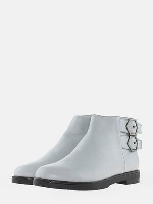 Ботинки серые | 5704553