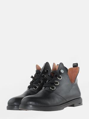 Ботинки черные | 5704557