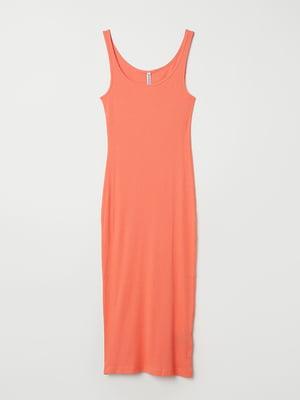 Сукня помаранчевого кольору | 5704603