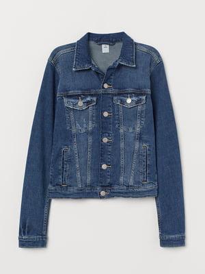 Куртка джинсова синя | 5704614