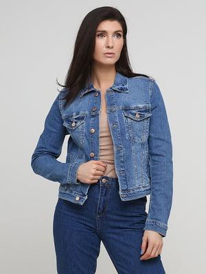 Куртка джинсова блакитна | 5704803