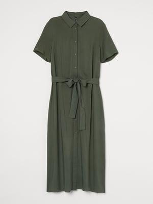 Сукня кольору хакі | 5705053