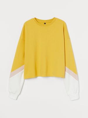 Свитшот желтый | 5705087