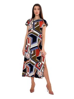 Сукня в абстрактний принт | 5502875