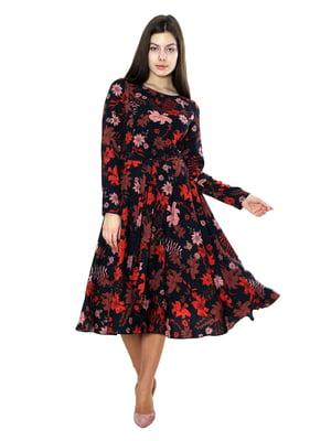Сукня в квітковий принт | 5631056