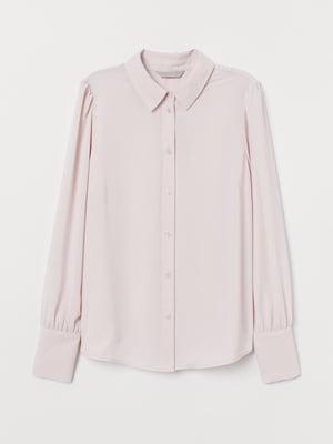 Рубашка пудрового цвета | 5704887