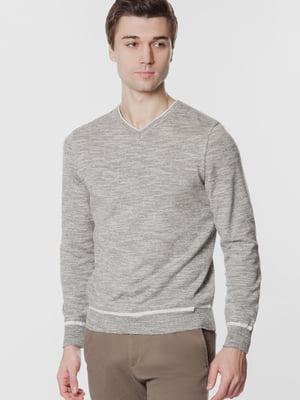 Пуловер сірий | 5705348