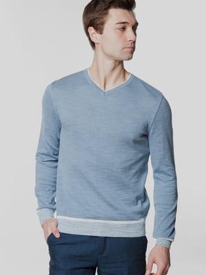 Пуловер блакитний | 5705349