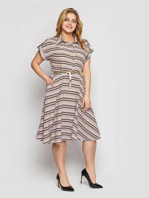 Платье в принт | 5705435