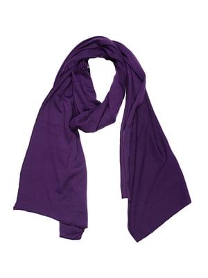 Шарф фиолетовый | 5705497