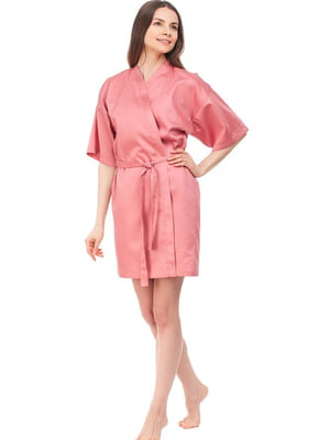 Халат рожевого кольору | 5705286