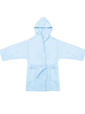 Халат голубого цвета   5705306