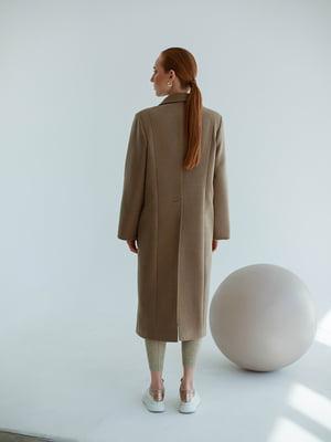 Пальто оливкового кольору | 5705724