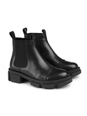 Ботинки черные   5706577