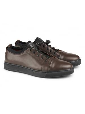 Туфлі темно-коричневі | 5706585