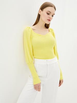 Джемпер жовтий | 5706605