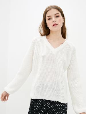 Пуловер белый | 5706608