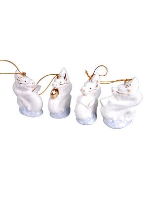 Комплект декоративних фігурок для ялинки (4 шт.)   5049644