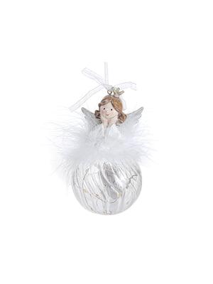 Фигурка декоративная «Ангел» с подсветкой (13 см) | 5705757