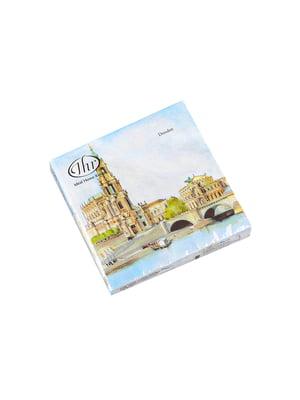 Набір серветок «Дрезден» (32x32 см, 20 шт.) | 5705767