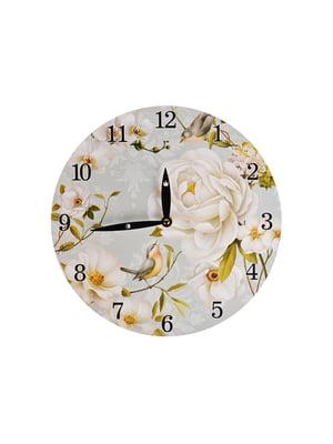 Годинник настінний «Райський сад» (29 см) | 5705786