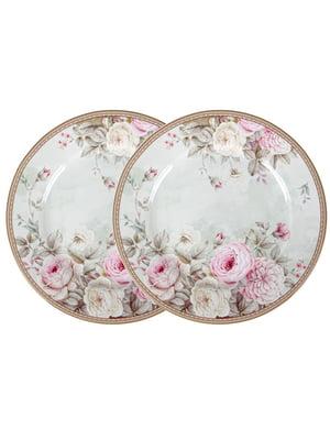 Набір з 2-х тарілок «Англійська троянда» (19 см)   5705790