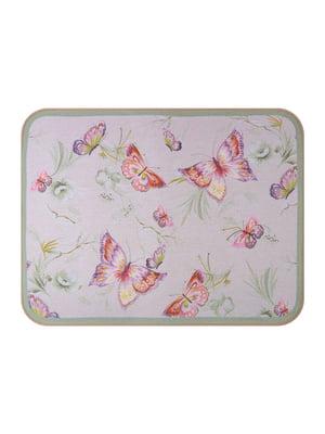 Коврик прорезиненный «Бабочки» (50х70 см)   5706010
