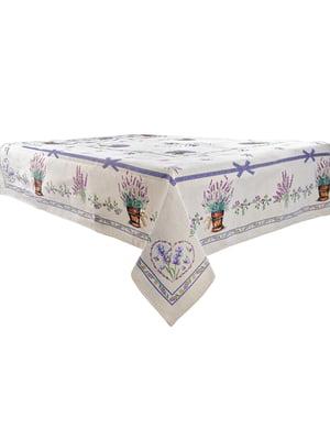 Скатертина lilac (100х100 см) | 5706090