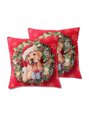 Наволочка з люрексом Dog style (45х45 см)   5706093