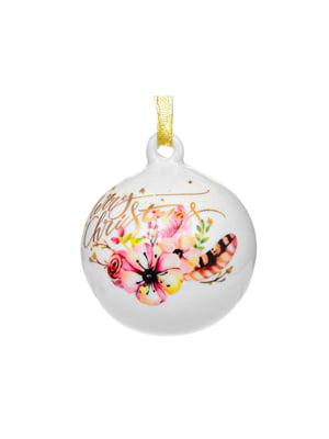 Елочное украшение «Рождественский олень» (9 см) | 5706263