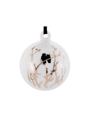 Украшение елочное «Золотые совушки» (8,5 см) | 5706310