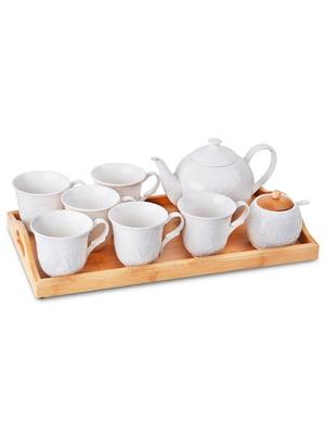 Чайний набір на бамбуковій підставці (9 предметів)   5706367