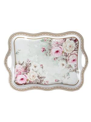 Блюдо з ручками «Англійська троянда» (35 см)   5706428