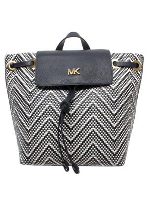 Рюкзак чорно-білий | 5706629