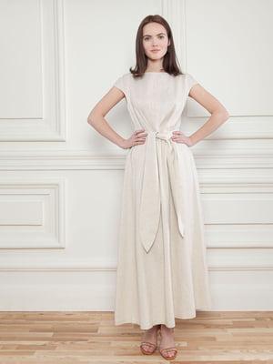Платье бежевое | 5702876