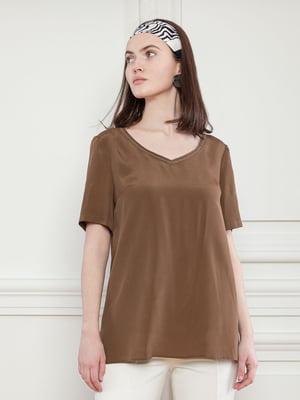Блуза коричневая   5702912