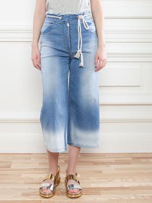 Кюлоті джинсові блакитні | 5707002