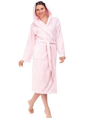 Халат рожевого кольору | 5705246