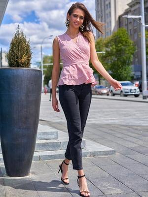 Блуза пудрового цвета | 5707086