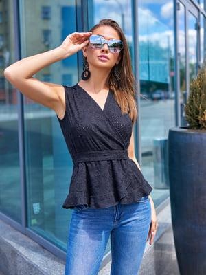Блуза черная | 5707087