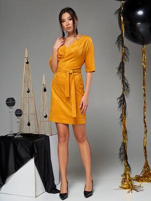 Сукня гірчичного кольору | 5707079